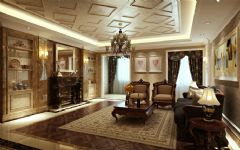 绿城玫瑰园古典风格四居室