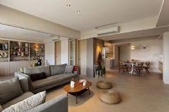 玉泉E区-三居室-125平米-装修设计现代风格三居室