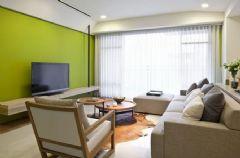 中央商务区-二居室-85平米-装修设计现代风格小户型