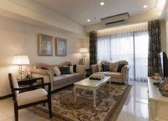 城南 水韵江三居室-122平米-装修设计欧式风格小户型