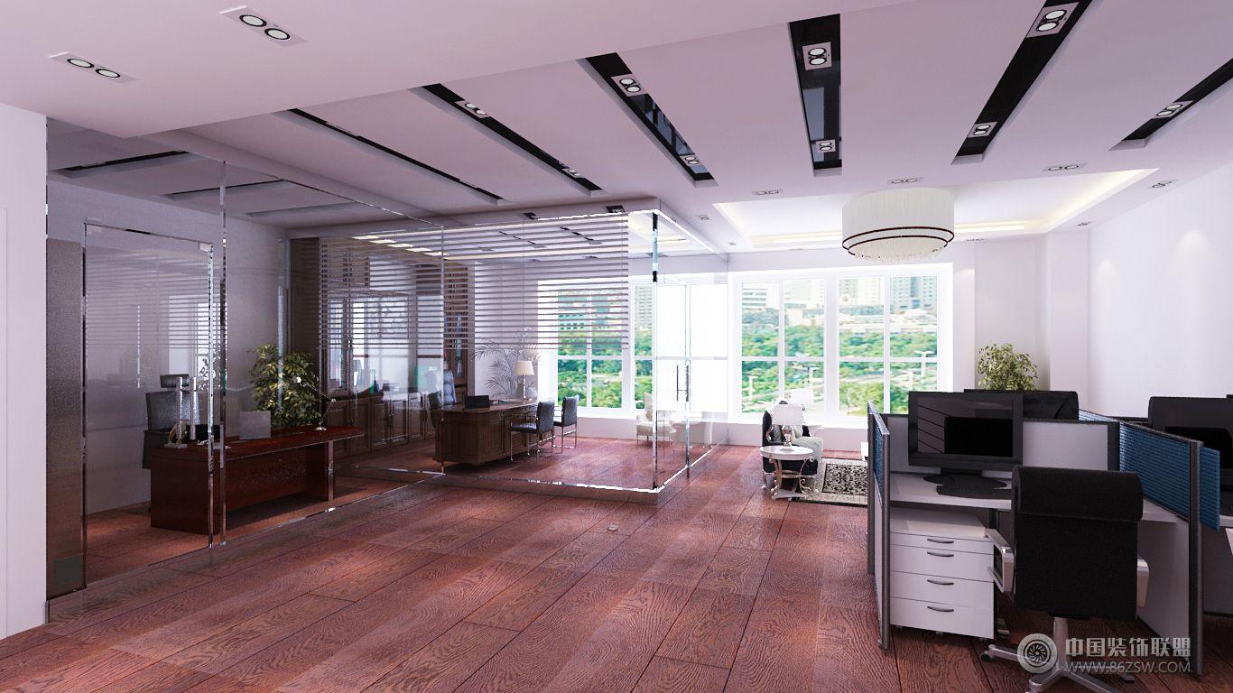 味·品 九华国际办公室整套大图展示_办公室装修效果