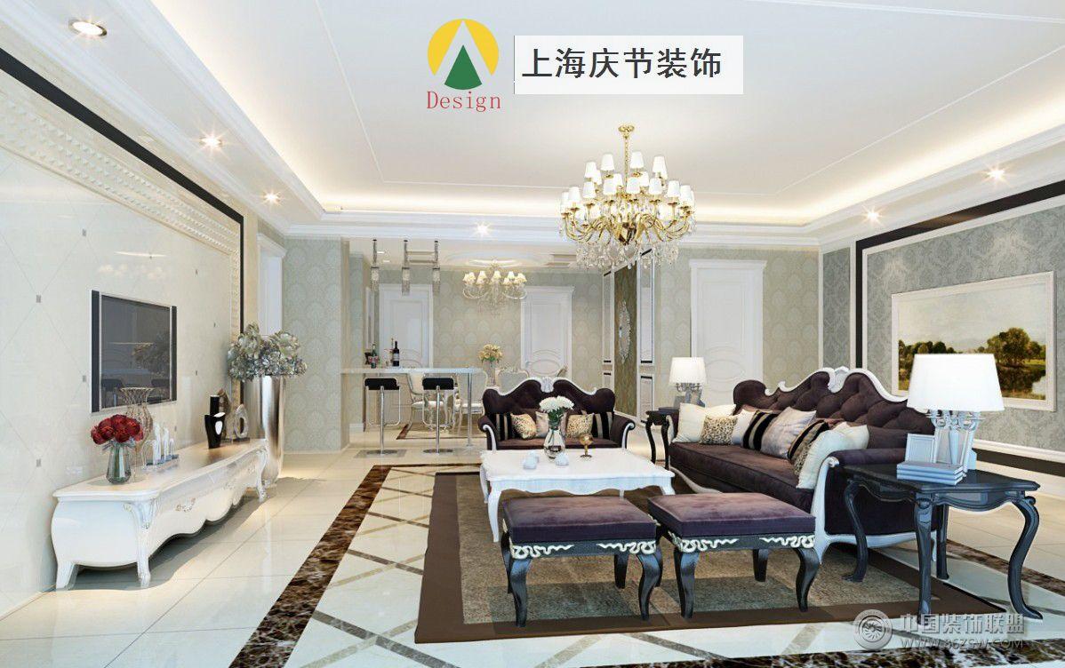 欧式现代-上海庆节建筑装饰设计有限公司装修案例