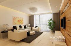 银亿阳光城简约风格三居室