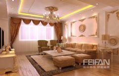 银亿E区欧式风格三居室