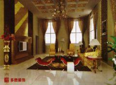 阳光新城欧式风格二居室