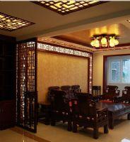 睿懿园30号楼中式风格三居室