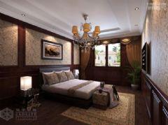 玉景园美式风格三居室