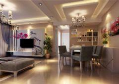 蝶湖湾美式风格三居室