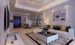 城中一号现代设计风格现代风格三居室