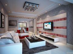金色水岸三室二厅现代风格户型解析现代风格小户型