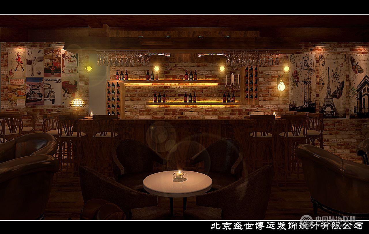 風格酒吧-單張展示-酒吧裝修效果圖-八六(中國)裝飾(.