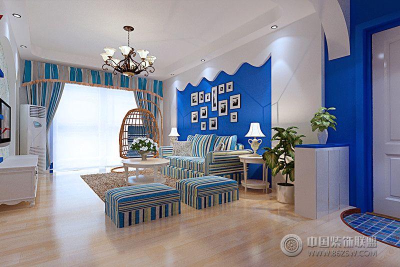 欧洲花园美式客厅装修图片