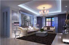 时代海景现代风格三居室