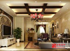 阳光首院小区简欧风欧式风格三居室