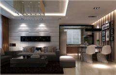 和谐家园简约风格三居室