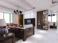 海源府第中式中式风格三居室