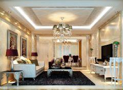 丽景效果图欧式风格三居室