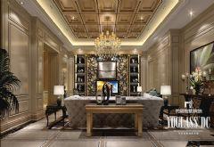 成都尚层装饰欧式风格设计案例欧式风格别墅