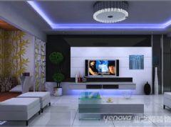 轩辕小区现代风格三居室