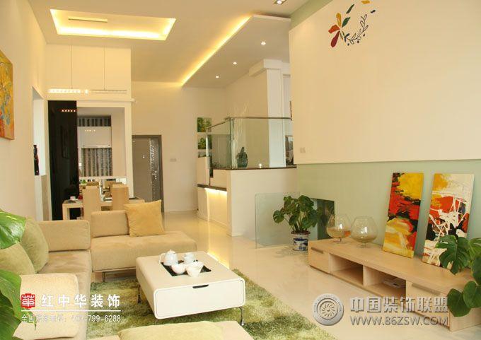水木清华-客厅装修效果图-八六(中国)装饰联盟装修