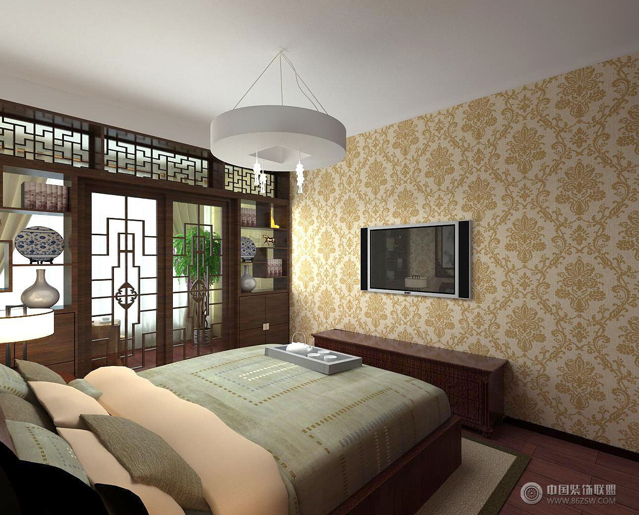 项王小区-客厅装修图片