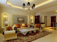 橡树湾欧式风格三居室