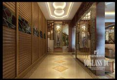 四海逸家设计案例——成都尚层装饰中式风格五居室