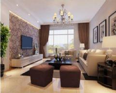 高家巷小区-三居室-135平米-装修设计现代风格三居室