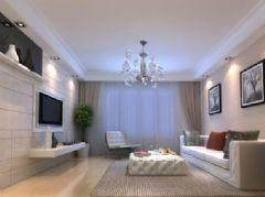 东汽二期-二居室-85平米-装修设计现代风格小户型