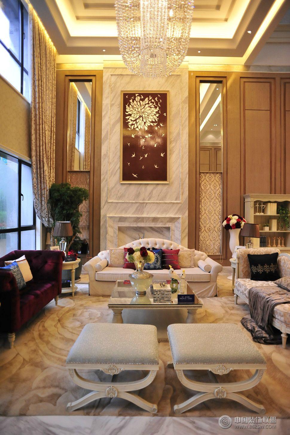 和谐家园整套大图展示_欧式复式装修效果图_八六(中国