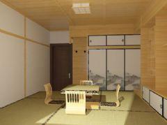 馨苑小區-二居室-80平米-裝修設計東南亞風格小戶型