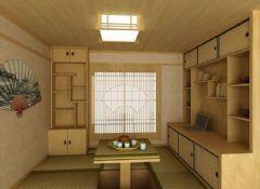 东汽二期-二居室-78平米-装修设计东南亚风格小户型