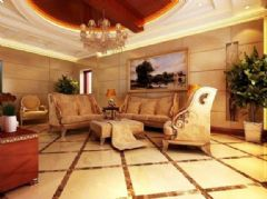 高家巷小区-三居室-120平米-装修设计欧式风格三居室