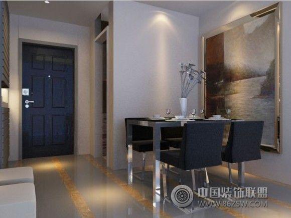 怡警花园-三居室-100平米-装修设计_现代三居室小户型