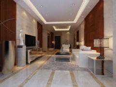 怡警花园-三居室-100平米-装修设计现代风格小户型