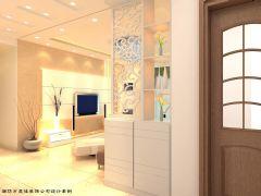 阳光佳和小区简约风格三居室