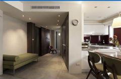 台北住宅简约风格三居室