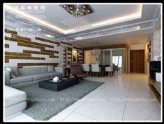 水岸假日林先生现代风格三居室