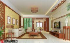 东江学府中式风格三居室