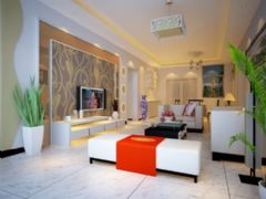 御景豪庭801现代风格三居室