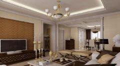 中冶创业苑欧式风格三居室