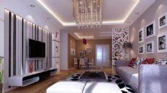 水晶郦都现代风格二居室