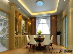 阳光嘉园现代风格二居室