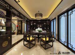 金鑫花园中式风格三居室