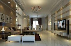 东方巴黎现代风格三居室