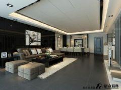 丽景大厦现代风格三居室