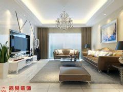 龙汇领峰现代风格三居室