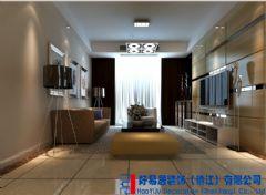 华润国际现代风格三居室