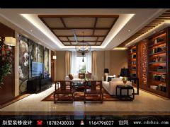 黄金海岸新中式美式风格别墅