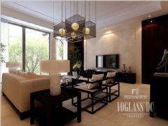 新中式时尚别墅成都尚层装饰中式风格别墅
